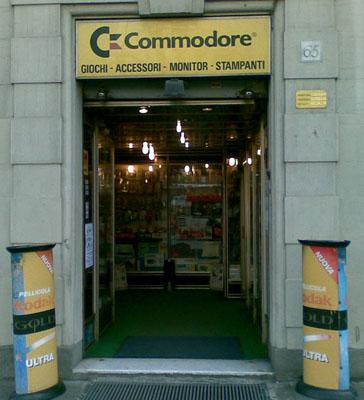 Negozio Commodore